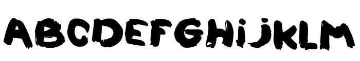 LALOUZZ Font LOWERCASE