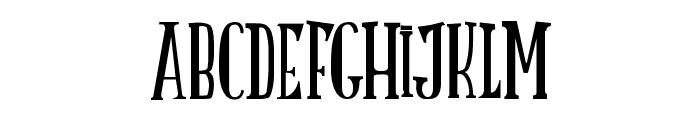 LATRUITEAPAPA B Font UPPERCASE