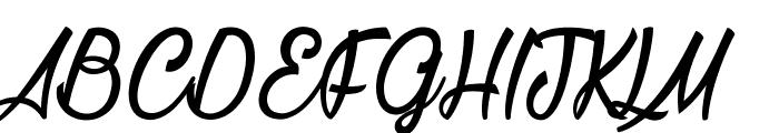 La Cithare Font UPPERCASE