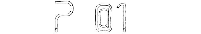 La Grosse Cochonne Defaced Font OTHER CHARS