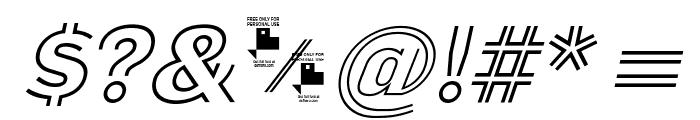 La Pejina Italic FFP Italic Font OTHER CHARS