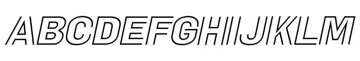 La Pejina Italic FFP Italic Font UPPERCASE