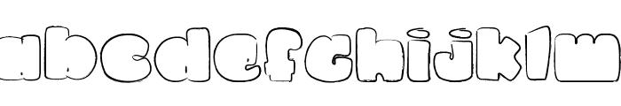 La petite puce Font LOWERCASE