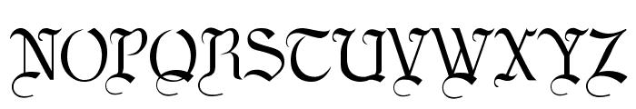 LaBrit Font UPPERCASE