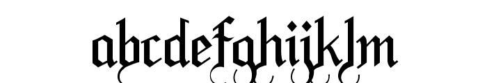 LaBrit Font LOWERCASE