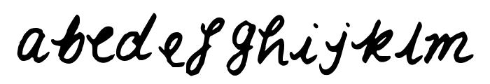 LaCarmella Font LOWERCASE