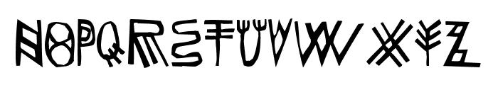 LaFaFabienne Font UPPERCASE