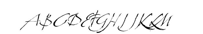 LaFigura Font UPPERCASE
