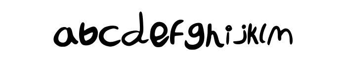 LaIzzIerComiC Font LOWERCASE