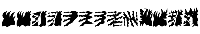 LaMorte2 Font LOWERCASE