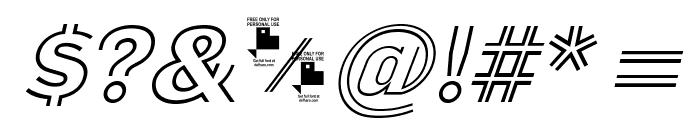 LaPejinaItalicFFP-Italic Font OTHER CHARS