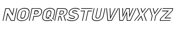 LaPejinaItalicFFP-Italic Font UPPERCASE