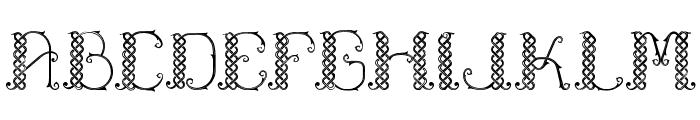 Laapiah Tigo Typeface Font UPPERCASE
