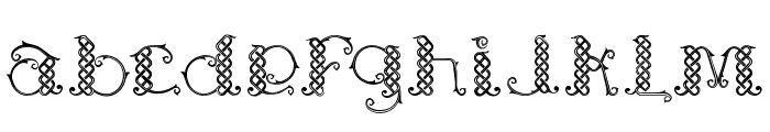 Laapiah Tigo Typeface Font LOWERCASE