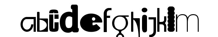 Lab Mix Font LOWERCASE