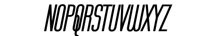 Labtop Bold Italic Font UPPERCASE