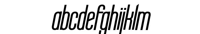 Labtop Bold Italic Font LOWERCASE