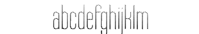 Labtop Candy Font LOWERCASE