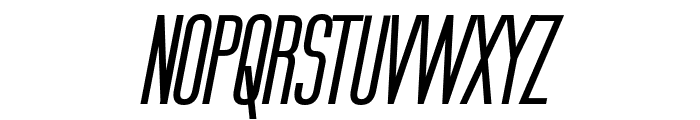 Labtop Secundo Bold Italic Font UPPERCASE