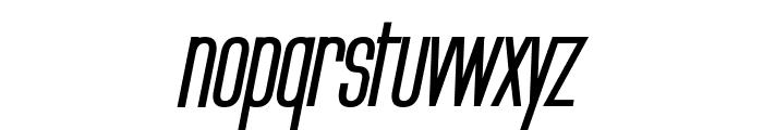 Labtop Secundo Bold Italic Font LOWERCASE