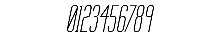 Labtop Secundo Italic Font OTHER CHARS