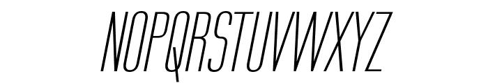 Labtop Secundo Italic Font UPPERCASE