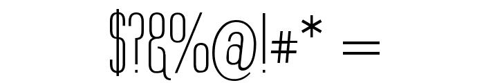 Labtop Underline Font OTHER CHARS