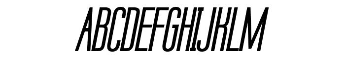 Labtop Unicase Bold Italic Font UPPERCASE