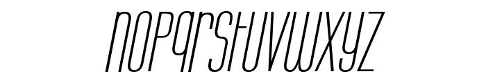 Labtop Unicase Italic Font LOWERCASE