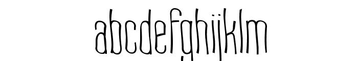 Labtop Warp 1 Font LOWERCASE