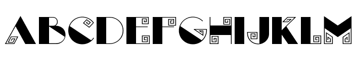 Labyrinth NF Font LOWERCASE