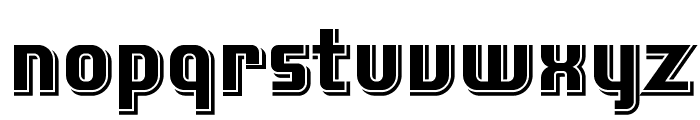 Laconic-Shadow Font LOWERCASE
