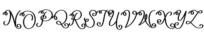 Lacoruna Font UPPERCASE