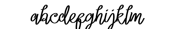 Lacoruna Font LOWERCASE