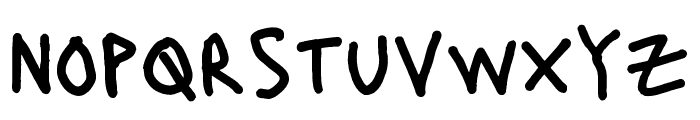Lacquer Regular Font LOWERCASE