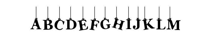 Lady Fiesta Font UPPERCASE
