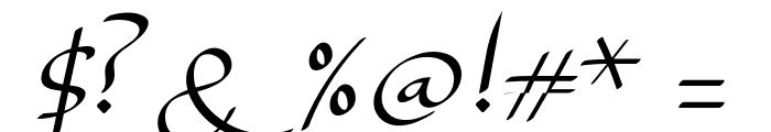 Lady Jasmine Font OTHER CHARS