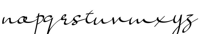 Lady Jasmine Font LOWERCASE
