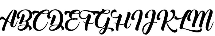 Ladybirds Font UPPERCASE