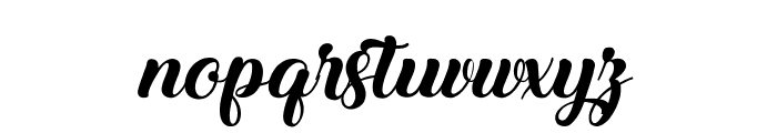 Ladybirds Font LOWERCASE