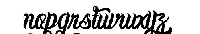 LafayetScripts-Medium Font LOWERCASE