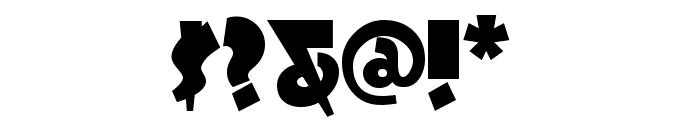 LaffRiotNF Font OTHER CHARS