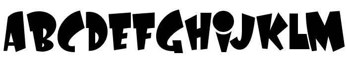 LaffRiotNF Font UPPERCASE