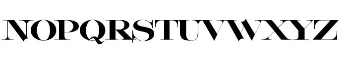 Lafitte Font UPPERCASE