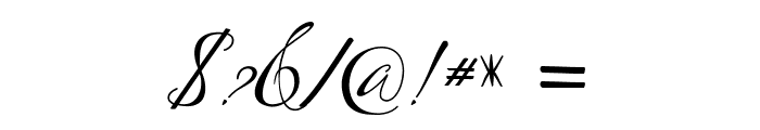 Lagena Font OTHER CHARS