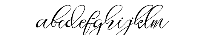 Lagena Font LOWERCASE