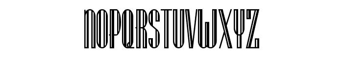 Lagniappe-Inline Font UPPERCASE