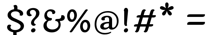 Laila Medium Font OTHER CHARS