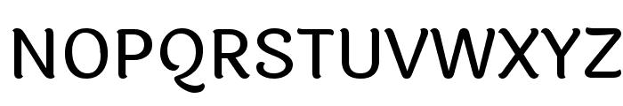 Laila Medium Font UPPERCASE