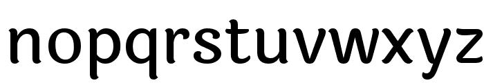 Laila Medium Font LOWERCASE